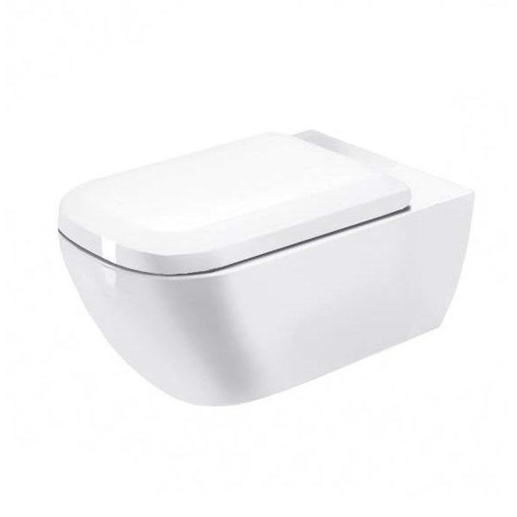 DURAVIT Happy D.2 Rimless WC misa s efektívnym oplachom