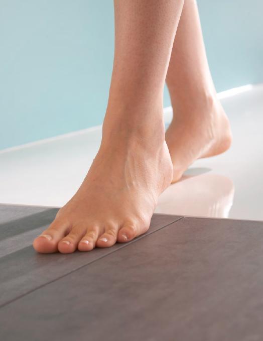 HÜPPE EasyStep bezbariérové zabudovanie priamo do podlahy