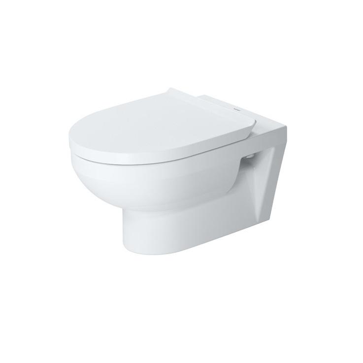 DURAVIT DURA STYLE Rimless WC misa bez oplachového kruhu