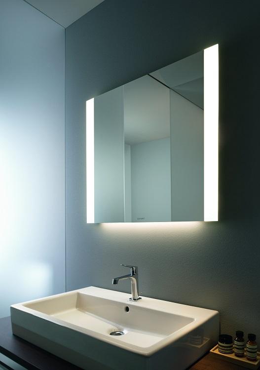 DURAVI zrkadlo osvetlenie po stranách
