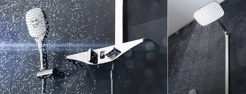 HANSA EMOTION Wellfit sprchový systém detail