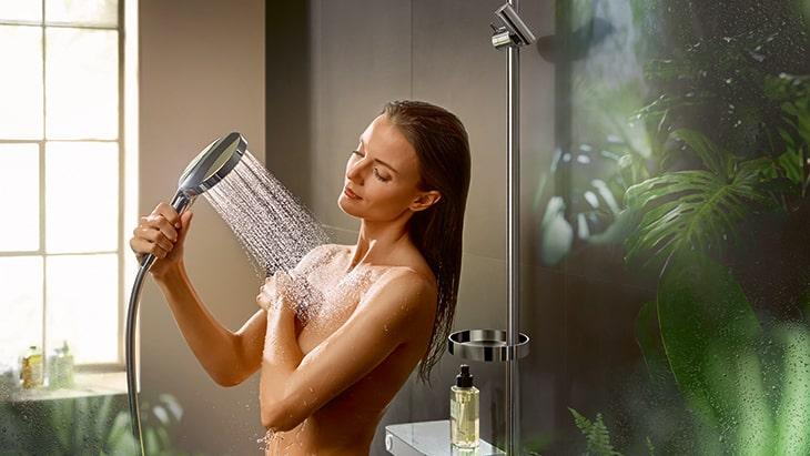HANSGROHE Raindance Select S ručná sprcha Powder Rain