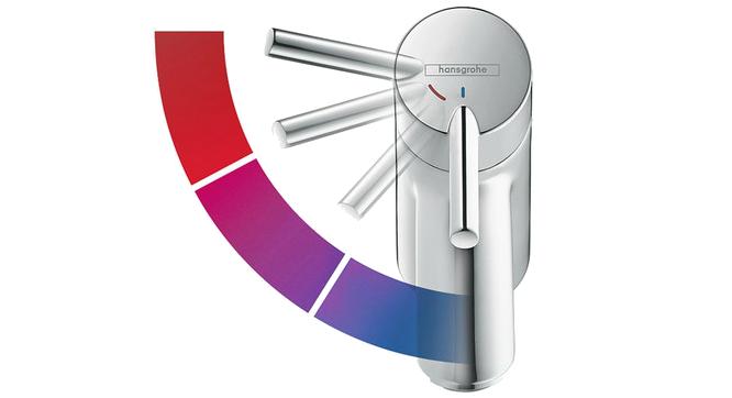 Hansgrohe Coolstart Automatická úspora energie