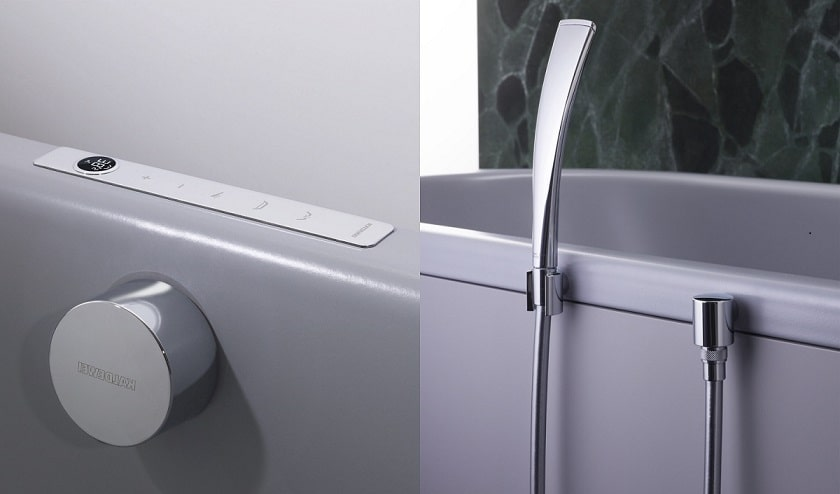 KALDEWEI Comfort Select dotyková armatúra a ručná sprcha