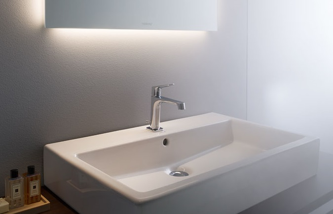 Śpodné osvetlenie umývadla LED zrkadlo DURAVIT