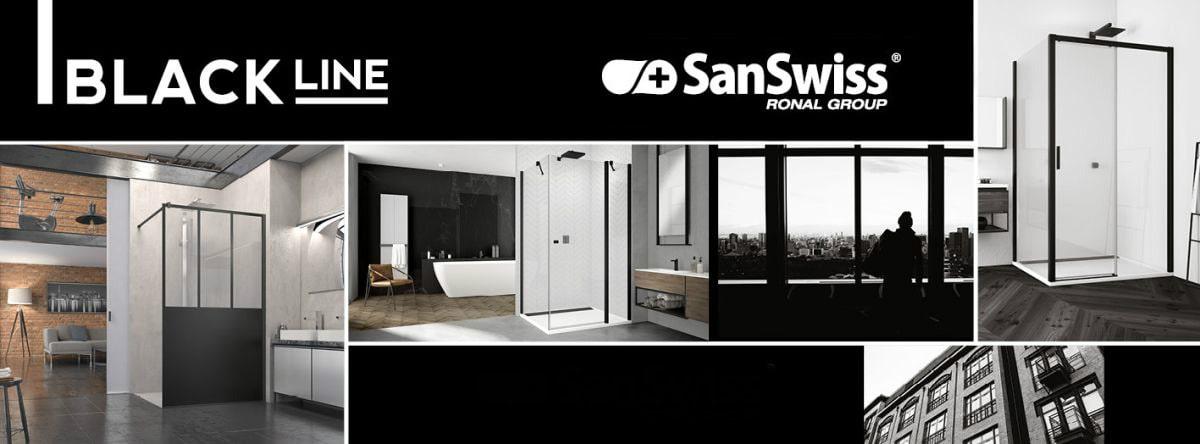 SanSwis sprchové kúty - Black Line MyBath