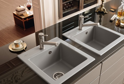Villeroy & Boch Subway 475mm x 510mm šedý