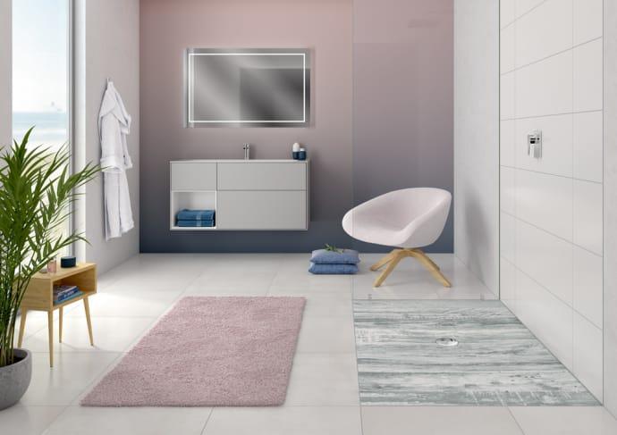 Villeroy & Boch ViPrint sprchové vaničky s prirodnou grafikou