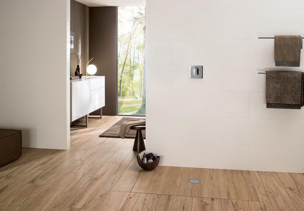 Villeroy & Boch Viprint sprchová vanička v odtieni dlažby Lodge